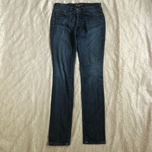 Lucky Brand low rise Charlie Skinny jeans